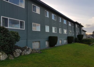 We can efficienty clean apartment, condo and office buildings